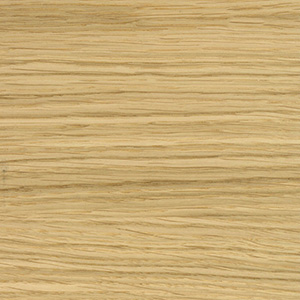Oak veneer, clear, matt lacquered