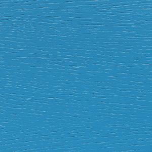 Eichenfurnier, lichtblau lackiert