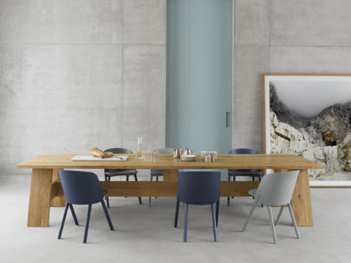 e15 presents product family designed by architect David Chipperfield