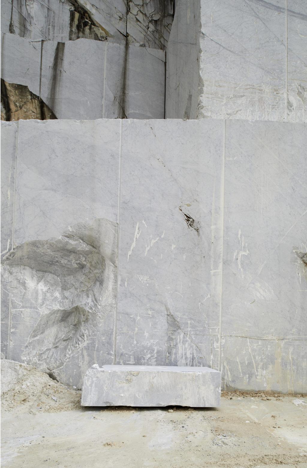 Marmor Steinbruch Carrara