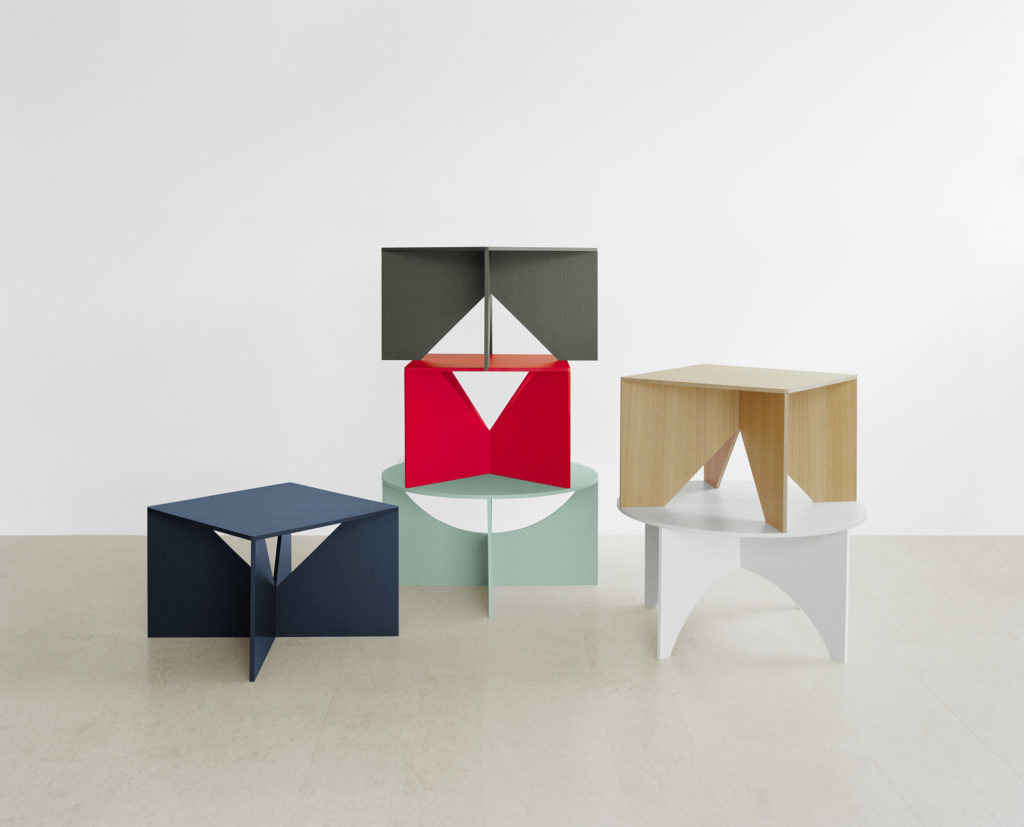A group of CALVERT and CHARLOTTE coffee tables