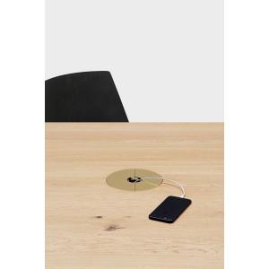 Kabelmanagement für Tische