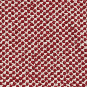 71% wool and 29% cotton, red
