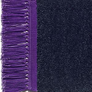 Sapphire blue, fringes signal violet