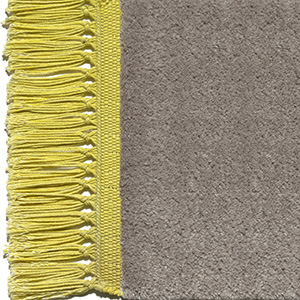 Taupe, finges mustard yellow