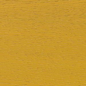 Oak veneer, honey yellow lacquered