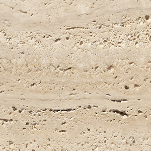 Travertine, unfilled
